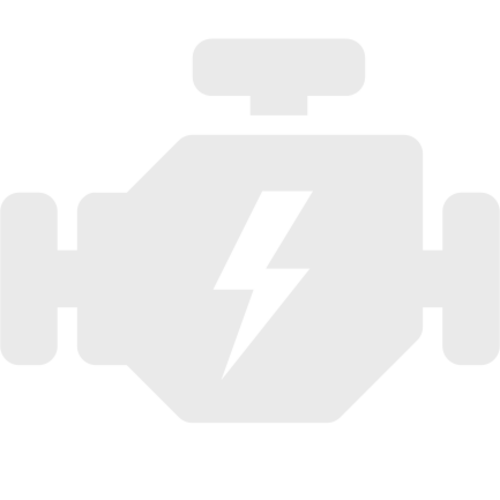 Bromsok lackering kit - Vit - 3 komponenter