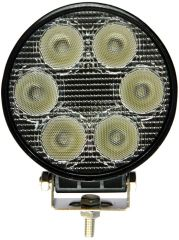 Arbetslampa LED Rund 18W