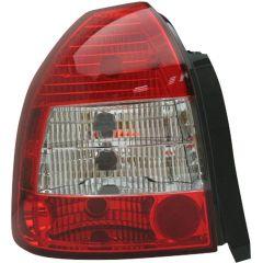 Baklyktspaket Honda Civic HB 3-Dörrar 1996-2001 - Röd/Klart