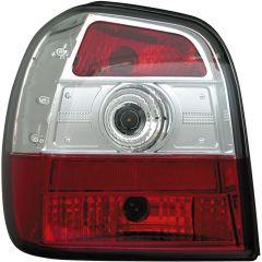 Baklyktspaket Volkswagen Polo 6N 1995-1999 - Röd/Klart