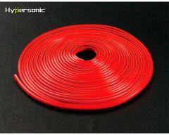 Klassisk flexibel Fälgstripes - Röd - 0,3 x 500cm